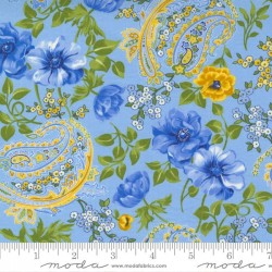 Flowers And Paisley - SKY