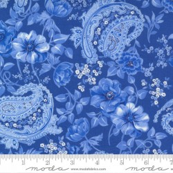 Flowers And Paisley - ROYAL