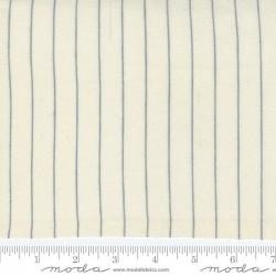 Brushed Fine Stripe - CLOUD