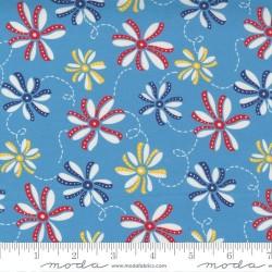 Ribbon Daisy - BLUE