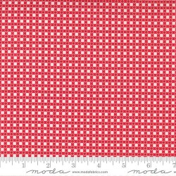 Dotted Check - RED
