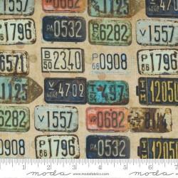 License Plates - RUST