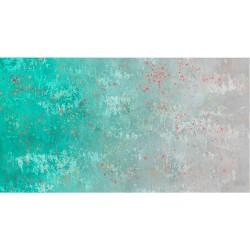 Gradient Splatter - AQUA/GREY