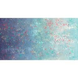 Gradient Splatter - NAVY/AQUA