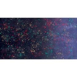 Gradient Splatter - BLACK/BLUE