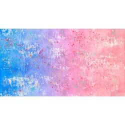 Gradient Splatter - BLUE/PINK