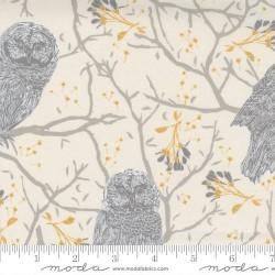 Woodland Owls - IVORY