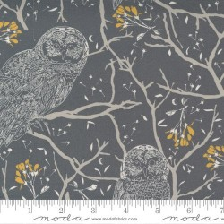 Woodland Owls - CHARCOAL