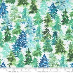 Winter Pines - WHITE