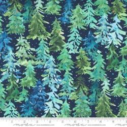 Winter Pines - NAVY