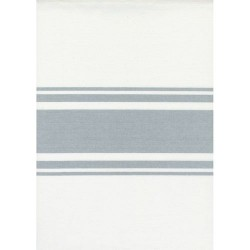 """18"""" Cotton Toweling - OFF WHITE/SILVER"""
