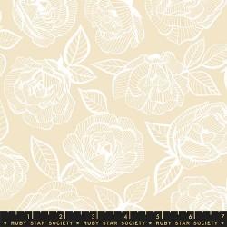 Floral Lace - PARCHMENT