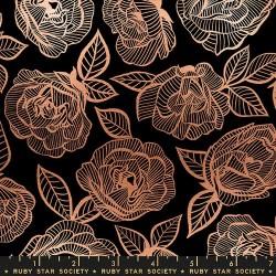 Floral Lace - BLACK