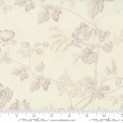 """108"""" Wideback Cotton Sateen Garden Blooms - CLOUD/DRIFTWOOD"""