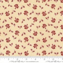 Prairie Bloom - BISCUIT - RED