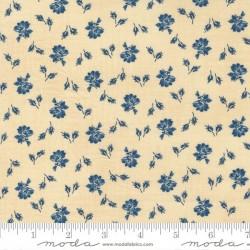 Prairie Bloom - BISCUIT - INDIGO