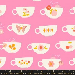 Tea Cups - FLAMINGO