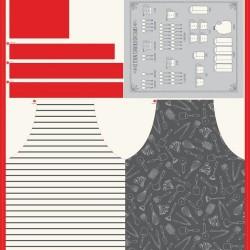 "Apron & Tea Towel Panel (49""x44"")"