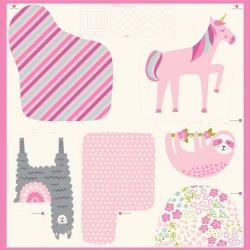 "Cut & Sew Animals Panel (38""x37"")"