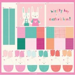 "Easter Egg & Bag Panel (33""x34"")"