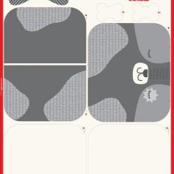 "Doggie Bed Panel (85""x53"")"