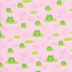 Here Froggy Frog - PINK