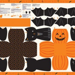 Halloween Cut & Sew Panel (90cm)