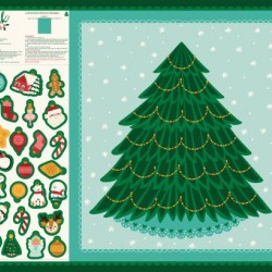 Cut & Sew Christmas Tree Panel I(90cm)