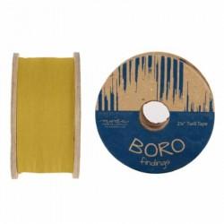 """Boro Twill Tape - (2.25""""x25yd Reel) - FLAX"""