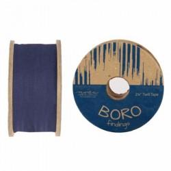 "Boro Twill Tape - (2.25""x25yd Reel) - INDIGO"