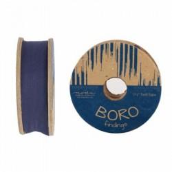 "Boro Twill Tape - (1.5""x25yd Reel) - INDIGO"