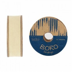"Boro Twill Tape - (1.5""x10yd Reel) -NATURAL"