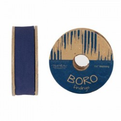 "Boro Twill Tape - (1.5""x10yd Reel) - INDIGO"