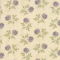 Puff Ball Floral - IVORY