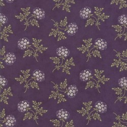 Puff Ball Floral - PURPLE