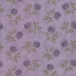 Puff Ball Floral - LILAC