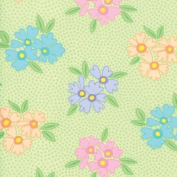 BUNCHES OF BLOOMS - GREEN