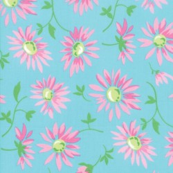 LAZY DAISIES - TURQUOISE