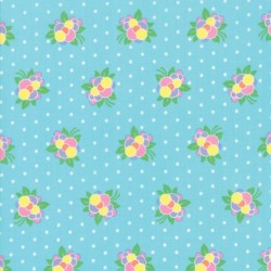 FLOWER POP - TURQUOISE