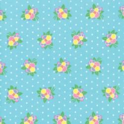 FLOWER POP - TURQUOISE