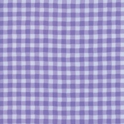 GIDDY GINGHAM - PURPLE