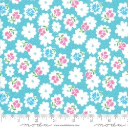 Flower Fiddle - TURQUOISE