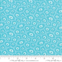 Double Dee Flowers - TURQUOISE