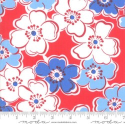 Friendship Flowers - COUNTRY RED