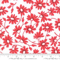 Blooming - WHITE - RED
