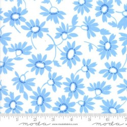 Blooming - WHITE - BLUE