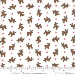 Tossed Reindeer - WHITE