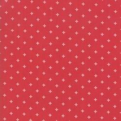 Twinkle Stars - CARDINAL RED