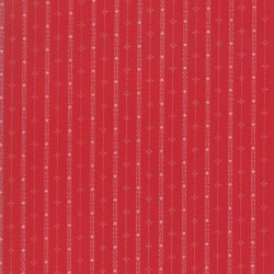 Feelin' Frosty Stripe - CARDINAL RED