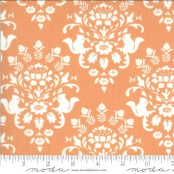 Squirrel Toile - APRICOT